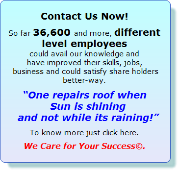 Welcome to improve Service - improve profits + have peace of mind