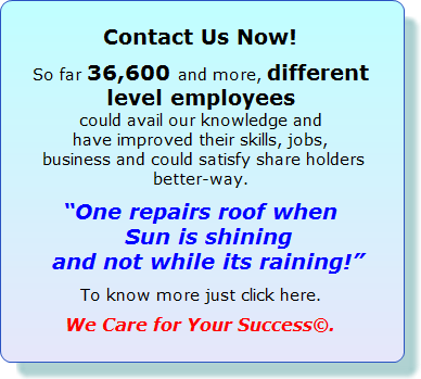 Welcome to improve Service - improve profits - have peace of mind